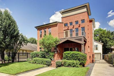 Houston Single Family Home For Sale: 1113 Usener Street