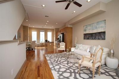 Houston Condo/Townhouse For Sale: 2300 Union Street #F