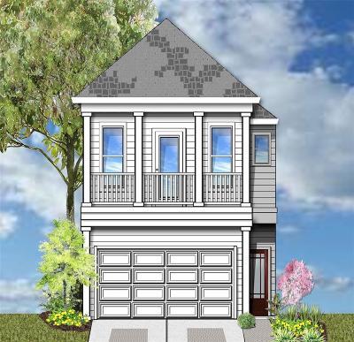 Houston Single Family Home For Sale: 105 Reinerman Street #A