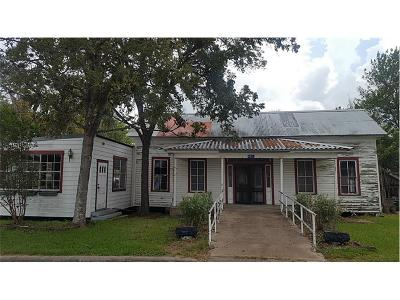 Schulenburg Single Family Home For Sale: 402 Anderson