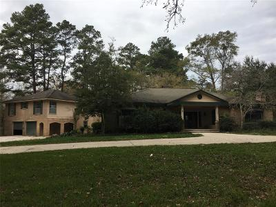 Conroe TX Single Family Home For Sale: $139,000