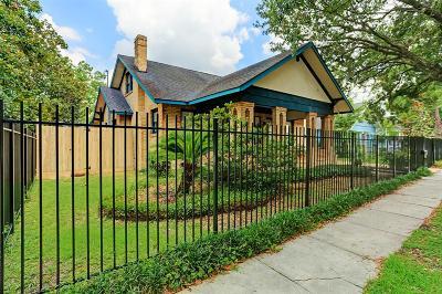 Houston Single Family Home For Sale: 1548 Harvard Street