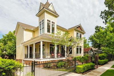 Houston Single Family Home For Sale: 713 Cortlandt Street
