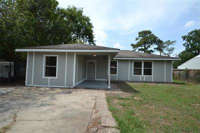Houston Single Family Home For Sale: 5859 Southurst Street