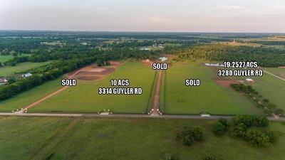 Residential Lots & Land For Sale: 3314 Guyler Road