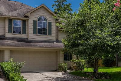 The Woodlands Condo/Townhouse For Sale: 2 Aquiline Oaks
