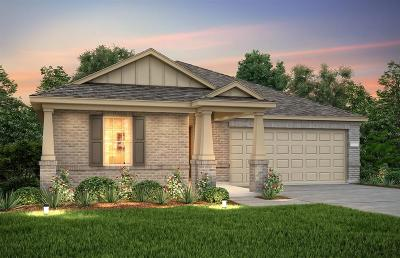 Conroe Single Family Home For Sale: 2170 Lost Timbers Drive