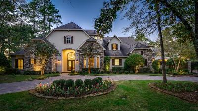 The Woodlands Single Family Home For Sale: 10 Palmer Crest