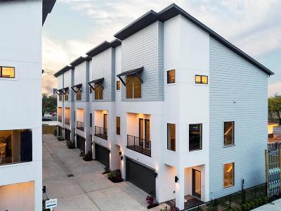 Houston Condo/Townhouse For Sale: 143 N Ennis Street