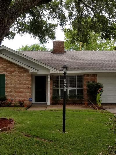 Rosenberg Single Family Home For Sale: 3608 Avenue P