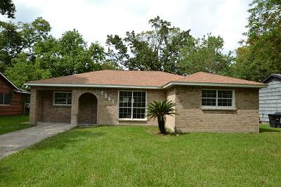 Houston Single Family Home For Sale: 7241 Wiley Road