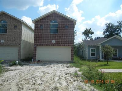 Houston Single Family Home For Sale: 614 E 39th