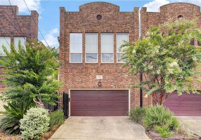 Houston Single Family Home For Sale: 1521 Blair Street