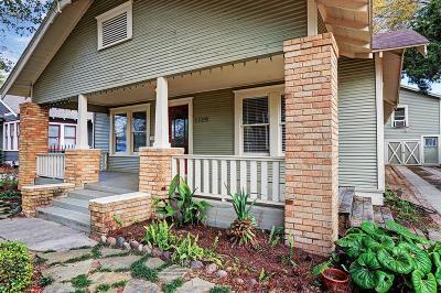 Houston Single Family Home For Sale: 1129 Euclid Street