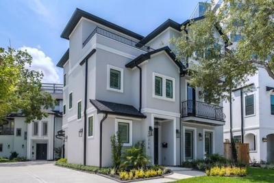 Houston Condo/Townhouse For Sale: 2035 A Sheridan Street