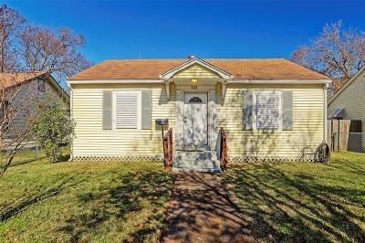 Texas City Single Family Home For Sale: 722 10th Avenue N
