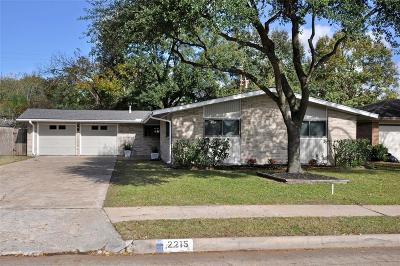 Single Family Home For Sale: 2215 Haverhill Drive
