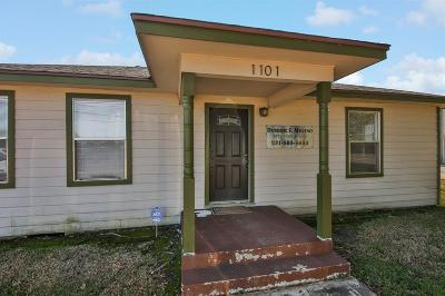 Alvin Single Family Home For Sale: 1101 W South Street
