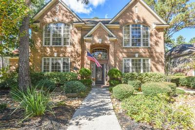 The Woodlands Single Family Home For Sale: 3 Long Lake Place