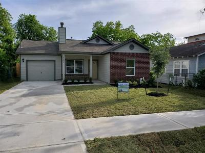 Houston Single Family Home For Sale: 3605 Goodhope