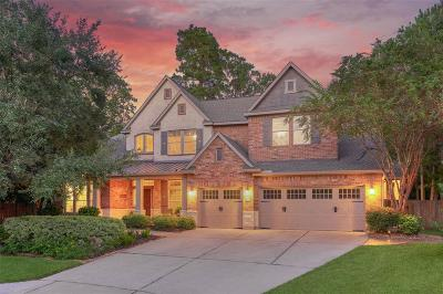 The Woodlands TX Single Family Home For Sale: $759,900