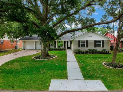 Houston Single Family Home For Sale: 5646 Sylmar Road