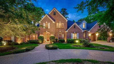 The Woodlands TX Single Family Home For Sale: $1,200,000