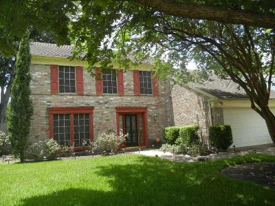 Houston Single Family Home For Sale: 18246 Brooknoll Drive