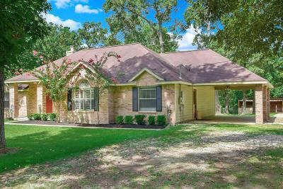 Montgomery Single Family Home For Sale: 13025 Ranchette Road