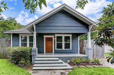 Houston Single Family Home For Sale: 2112 Dunlavy Street
