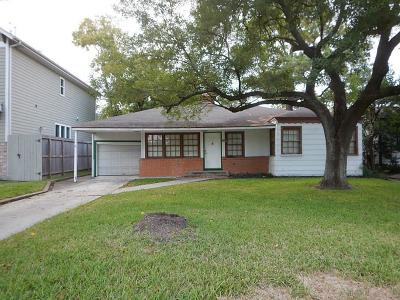 Bellaire Single Family Home For Sale: 4602 Cedar