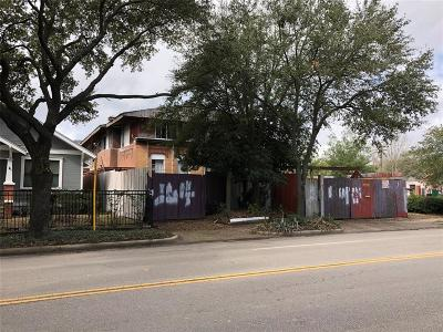 Houston Single Family Home For Sale: 1143 Yale Street