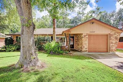 Houston Single Family Home For Sale: 2207 Ansbury Drive