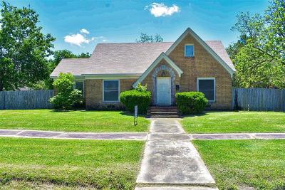 Bay City TX Single Family Home For Sale: $155,000