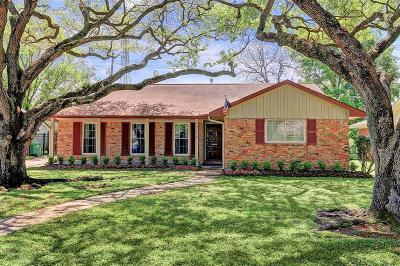Meyerland Single Family Home For Sale: 5123 Lymbar Drive