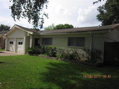 Houston TX Single Family Home For Sale: $166,900