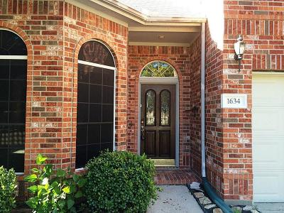Katy TX Single Family Home For Sale: $249,000