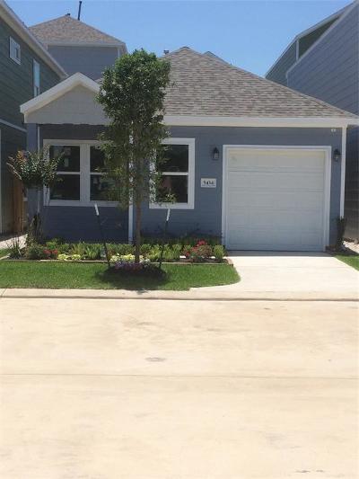 Houston Single Family Home For Sale: 5434 Camaguey Street