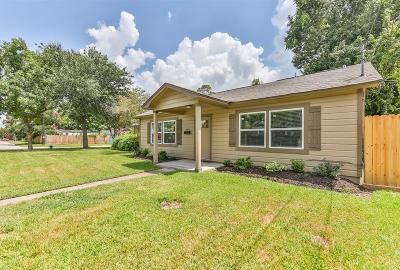 Houston Single Family Home For Sale: 1010 Fairbanks Street