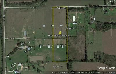 Waller Farm & Ranch For Sale: Vining Road