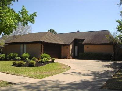 Single Family Home For Sale: 15310 Glenwood Park Drive