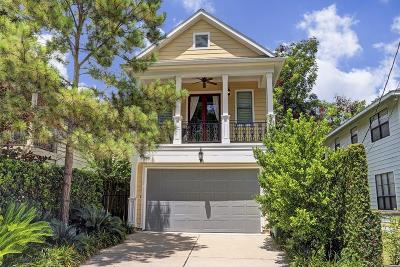 Houston Single Family Home For Sale: 713 W 12th Street