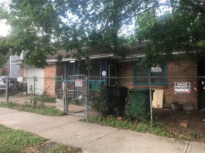 Single Family Home For Sale: 2314 Gentry Street