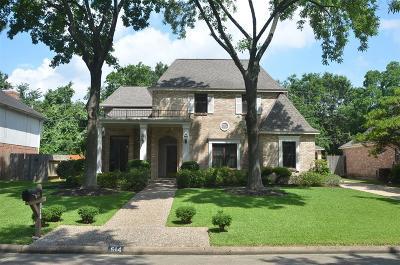 Katy Single Family Home For Sale: 514 Ellingham Drive