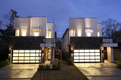 Houston TX Single Family Home For Sale: $899,000