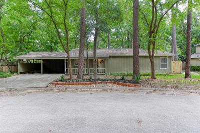 The Woodlands Single Family Home For Sale: 2717 S Millbend Drive