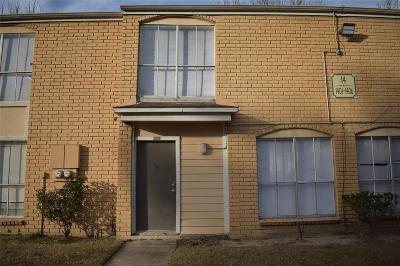 Houston TX Condo/Townhouse For Sale: $50,000