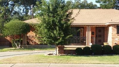 Dallas Single Family Home For Sale: 4933 Chilton Drive