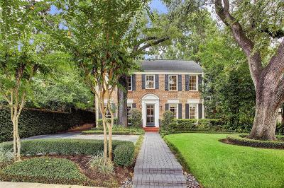 Houston Single Family Home For Sale: 3244 Locke Lane