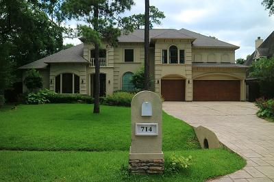 Houston Single Family Home For Sale: 714 Riedel